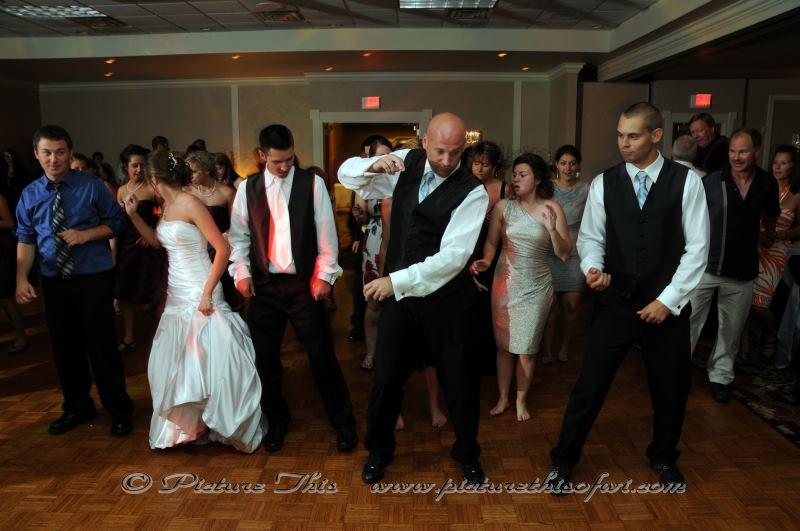 Wedding Reception DJs Dancing